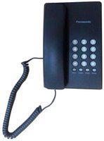 Panasonic 400 Black No Sim 1 Line Corded Landline Phone ( Black )
