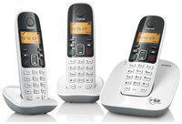 Gigaset A490 Trio Cordless Landline Phone - Set Of 3
