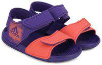 ADIDAS Boys Velcro Sports Sandals(Purple)