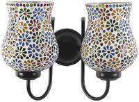 Devansh Multicolor Mosaic Wall Lamp )