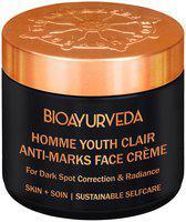BIOAYURVEDA Homme Youth Clair Anti-Marks Face Cream 120g
