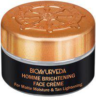 BIOAYURVEDA Homme Brightening Face Cream 20g