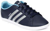 Adidas Unisex Navy Blue Sneakers