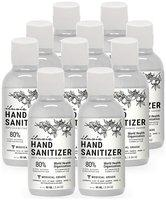 Illuvia Sanitizer 80% Ethyl Alcohol Concentration 90ml (Pack of 10)