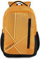 Priority 40 School bag - Yellow & Black