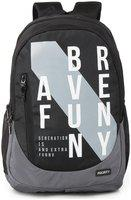 Priority 40 School bag - Black & Grey