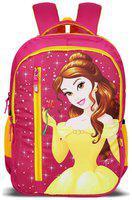 Priority 40 School bag - Pink & Yellow