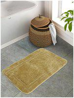 Portico New York Cotton Solid Green 1 Large Bath Mat Portico New York