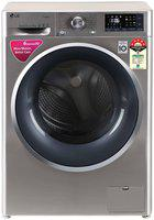 LG 7 kg Fully automatic front load Washing machine - FHT1207ZWS , Grey