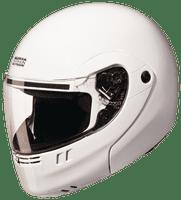 Studds Ninja 3G ECO Decor Full Face Helmet (White, 570MM)