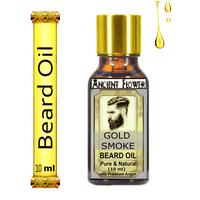 Ancient Flower - Gold Smoke - (with premium Argan) Beard Hair Oil(10ml)