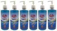 Poppy - 70% Alcohol Based Hygiene Hand Rub Sanitizer -500ml (Pack of 6)