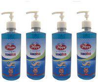 Poppy - 70% Alcohol Based Hygiene Hand Rub Sanitizer -500ml (Pack of 4)