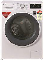 LG 6.5 kg Fully Automatic Front Load Washer with dryer - FHT1265ZNW , White
