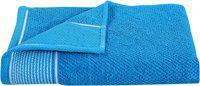 HOMECRUST 450 GSM Cotton terry Bath towel ( 1 piece , Blue )