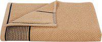 HOMECRUST 450 GSM Cotton terry Bath towel ( 1 piece , Brown )