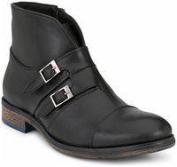 Delize Men Black Ankle Boots - 56052