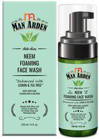 Man Arden Neem Foaming Face wash 120 ml without brush (Pack Of 1)