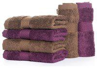 Wakefit 500 GSM Cotton Face Towel ( 6 Pieces , Assorted )