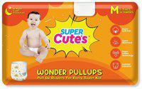 Super Cute's Wonder Pullups Pant Style Premium Diaper For Superior Absorption M 36 Pieces (Set of 1)
