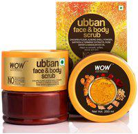 WOW Skin Science Ubtan Face & Body Scrub 200ml
