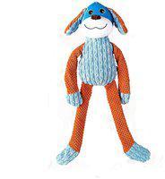 Goofy Tails Long Leg Doggie Squeaky Dog Toys (Multicolor) (Medium)
