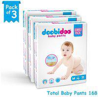 Doobidoo Baby Pants Medium Size 56 Pants (Set of 3)