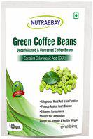 NUTRAEBAY Unroasted Green Coffee beans for Fat Loss /Weight Loss Management Organic coffee beans Instant Coffee 100g (Pack Of 1)