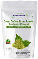 NUTRAEBAY Green Coffee beans Powder Unroasted for Fat Loss /Weight Loss Management Organic coffee beans Instant Coffee 100g (Pack Of 1)