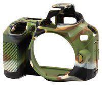 Onkliq Protective Silicone Rubber Military Color Camera Cover Compatible with Nikon D3500 Camera