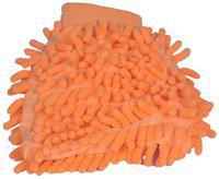 Celix Microfiber Mitt Multipurpose Car Cleaning Gloves - Orange