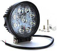 Autosky Led Car Aux Fog Light Assembly Round For Ford Eeco