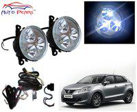 Auto Pearl High Power 3 LED DRL Fog Lamp with Wiring Kit & Switch For Maruti Suzuki Baleno 2015