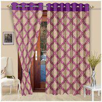 Cortina New Patch Premium Set Of 2 Long Door Curtain