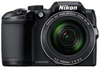 Nikon Coolpix B500 16 MP High Zoom Point & Shoot Camera (Black) plus HDMI Cable plus Carry Case plus 16GB SD Card