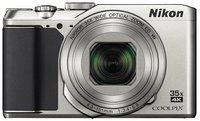 Nikon Coolpix A900 20.3 MP High Zoom Point & Shoot Camera (Silver) plus HDMI Cable plus Carry Case plus 16GB SD Card