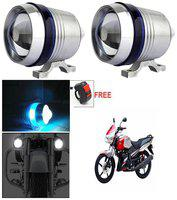 Capeshoppers U3 Headlight Fog Lamp With Lens Cree Led For Honda Activa 125 Deluxe Scooty