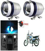 Capeshoppers U3 Headlight Fog Lamp With Lens Cree Led For Hero MotoCorp HF Dawn