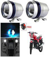 Capeshoppers U3 Headlight Fog Lamp With Lens Cree Led For Yamaha Ray Z Scooty