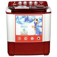 INTEX 7.2 Kg Semi automatic top load Washing machine - WMSA72DR , Dark red