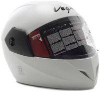 Vega Cliff Motorsports Full Face Helmet White