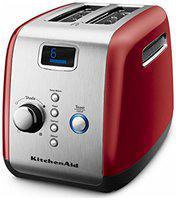 KitchenAid 5KMT223GER 2 Slices Pop-Up Toaster - Empire red