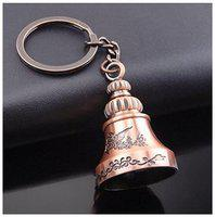 I-Gadgets Antique Bell Metal Keychain ( Copper )