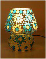 Somil 7 Watt Shining Hand Decorative Table Lamp, Compatible 5 To 80 Watt Led & Other Bulbs