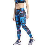 Women's Reebok Training Wor Myt All Over Print Tights