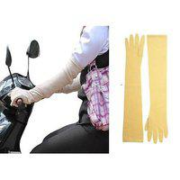 Long Sleeves Sun Protected Unisex 24 Driving Gloves