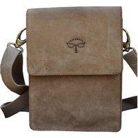 Tamanna Brown Leather Sling Bag