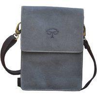 Tamanna Men & Women Black Genuine Leather Sling Bag