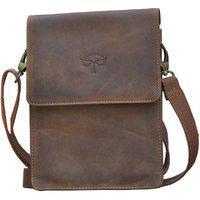 Tamanna Men & Women Brown Genuine Leather Sling Bag
