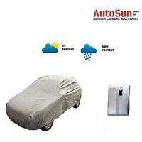 Autosun - Bright Silver Matte Car Body Cover For New Maruti Swift